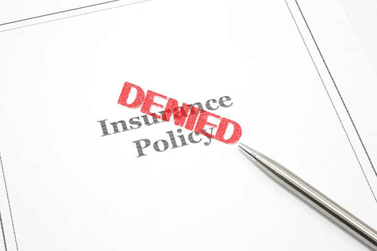 insurance denied